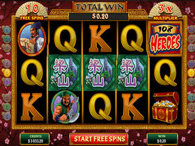 108 Heroes Slot Free Spins Feature