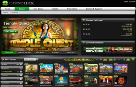 Play Castle Builder Slot at Casino Luck