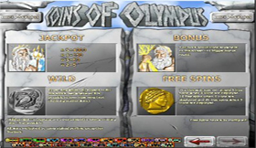Coins Of Olympus Features Page