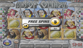 Coins Of Olympus Free Spins