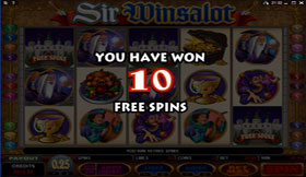 10 Free Spins activated