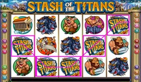 Stash Of The Titans JACKPOT Combination 1 Of 20 Combinations