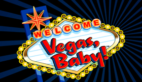 Vegas Baby Game Intro Logo
