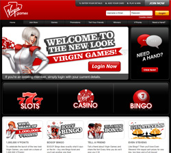 Virgin Games Website