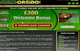 Prime Casino Screenshot