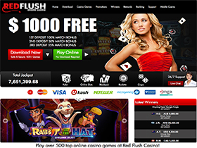 Red Flush Casino Screenshot